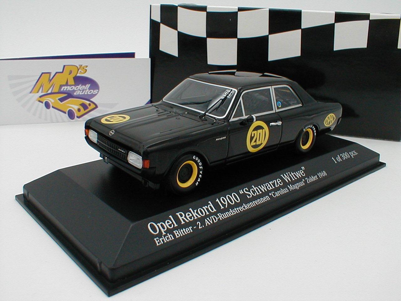 MINICHAMPS MINICHAMPS MINICHAMPS 437684601-Opel Record 1900  Veuve Noire  No. 201 E. amer 1 43 dd21b0