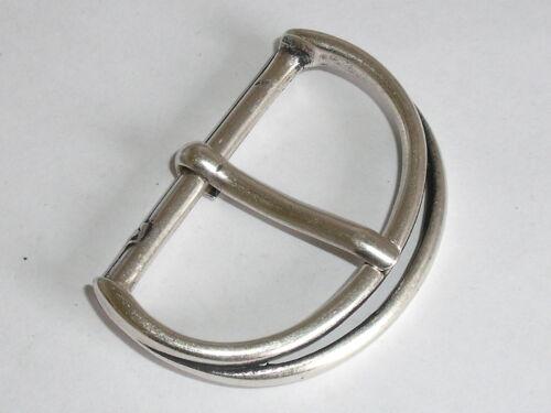 Gürtelschnalle Schließe Schnalle Verschluss 5 cm altsilber NEU rostfrei 0143.1