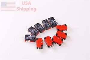 10X-V-15-1C25-15A-Button-SPDT-Micro-Limit-Switch-Momentary-Snap-Action