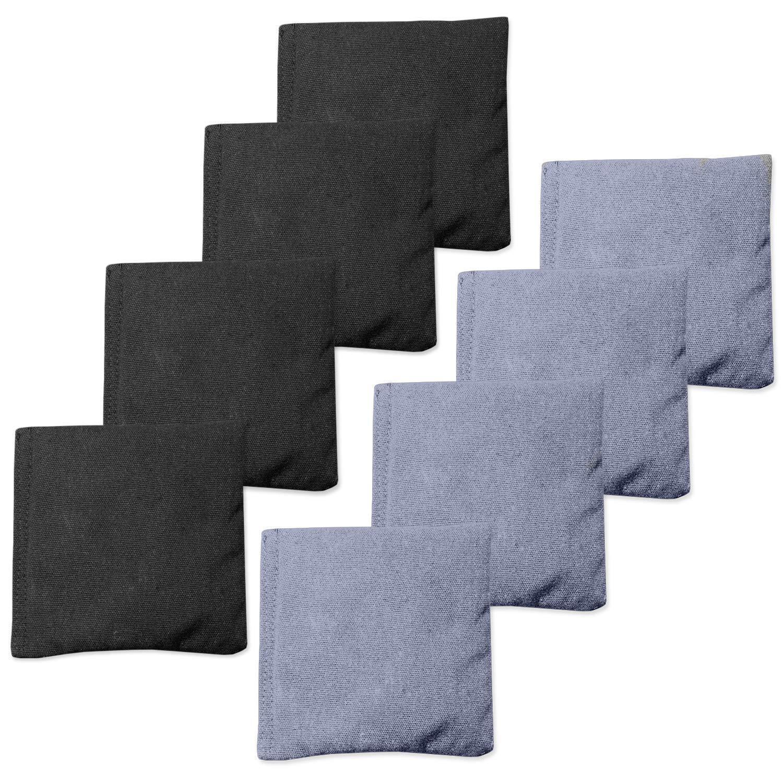 Terrific Cornhole Bean Bags Toss Game Set Of 8 Regulation Size Sand Inzonedesignstudio Interior Chair Design Inzonedesignstudiocom