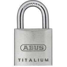 Abus 64TI//25 KA6255 Candado Titalium de 25mm llaves iguales