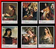 YEMEN 1967 PAINTINGS MNH RAPHAEL, RUBENS, CHARDIN, RENI,  BIBLE, JUDAICA