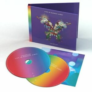 COLDPLAY-Live-In-Buenos-Aires-2018-24-track-2-CD-album-NEW-SEALED
