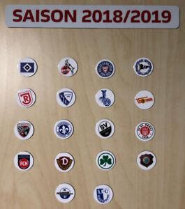 Details Zu 2 Bundesliga Logo Magnete Saison 2018 19 Alle 18 Vereine Fussball
