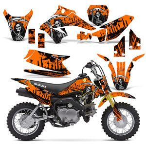 Decal Graphic Kit Suzuki DRZ Dirt Bike Sticker Backgrounds - Decal graphics for dirt bikes