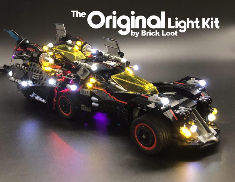 LED Lighting Kit for LEGO ® The Ultimate Batmobile Set 70917