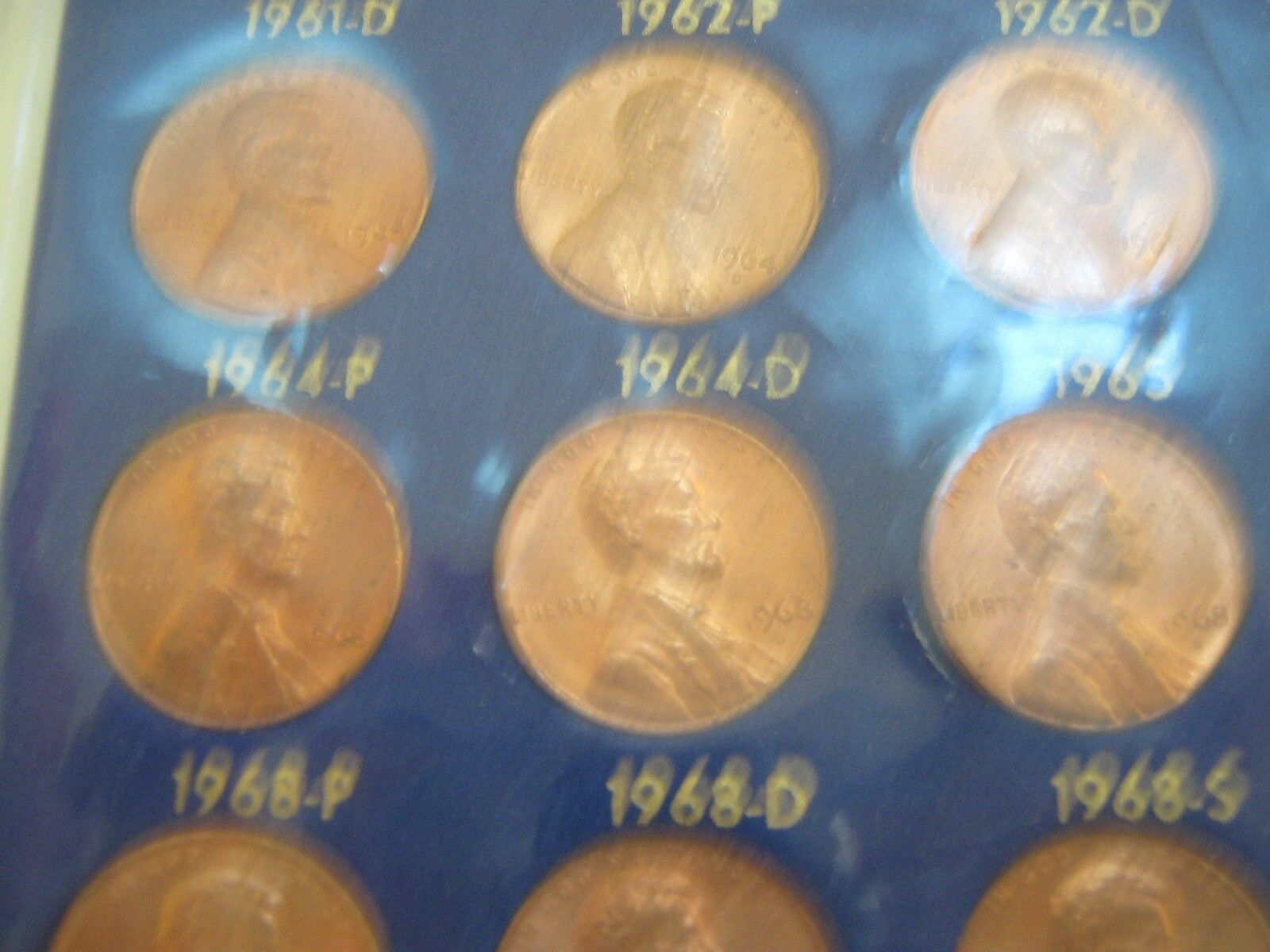 Lincoln Memorial Cent Set , 1959-1972 ,30 Uncirculated