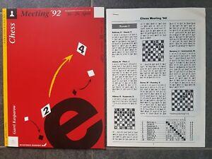 Rundenbericht Nr. 7 Dortmund Chess Meeting 92 Schach Rarität! - Dülmen, Deutschland - Rundenbericht Nr. 7 Dortmund Chess Meeting 92 Schach Rarität! - Dülmen, Deutschland