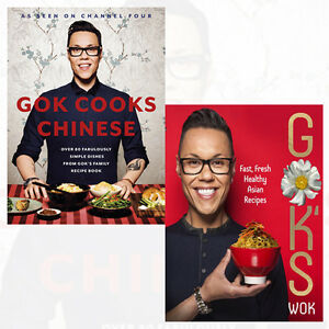 Gok-Wan-2-books-Bundle-Deal-Gok-039-s-Wok-Gok-Cooks-Chinese