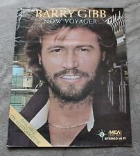 Barry Gibb Now Voyager 1984 Bee Gees Canada MCA Home Video VCR Promo Poster G C4