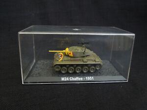 M24-Chaffe-Korean-War-1951-Diecast-ALTAYA-IXO-1-72-US-light-tank-1951