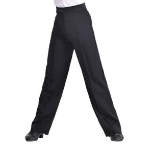 Men-Jazz-Latin-Dance-Pants-Smooth-Competition-Ballroom-Practice-Trouser-Cosy-Fit