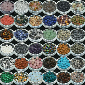 Wholesale-Lot-Natural-Gemstone-Round-Spacer-Loose-Beads-4mm-6mm-8mm-10mm