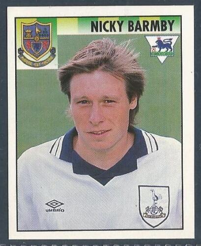 MERLIN 1995-PREMIER LEAGUE 95 #475-TOTTENHAM HOTSPUR /& ENGLAND-NICKY BARMBY