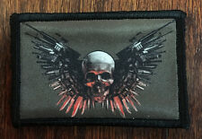 The Expendables Morale Patch Tactical Military USA Hook Badge Army Flag