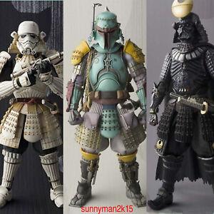 2017-HOT-Star-Wars-Stormtrooper-Darth-Vader-Boba-Fett-Samurai-Movie-Realization