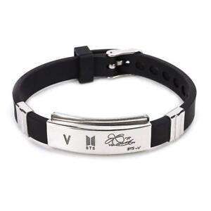 Kpop BTS Bangtan Boys Bracelet JUNGKOOK V BTS Wristband Unisex Jewelry [USA]