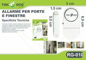 Allarme-Sensore-Magnetico-TeKone-RG-010-Antifurto-Acustico-Porte-Finestre-hsb