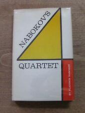 Vladimir Nabokov's  QUARTET  - stories - 1st/1st HCDJ 1966 - Lolita - fine
