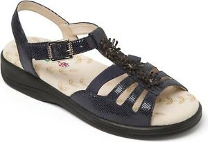 f0f167ac766 Image is loading Padders-SUNRISE-Ladies-Womens-Leather-Extra-Wide-3E-