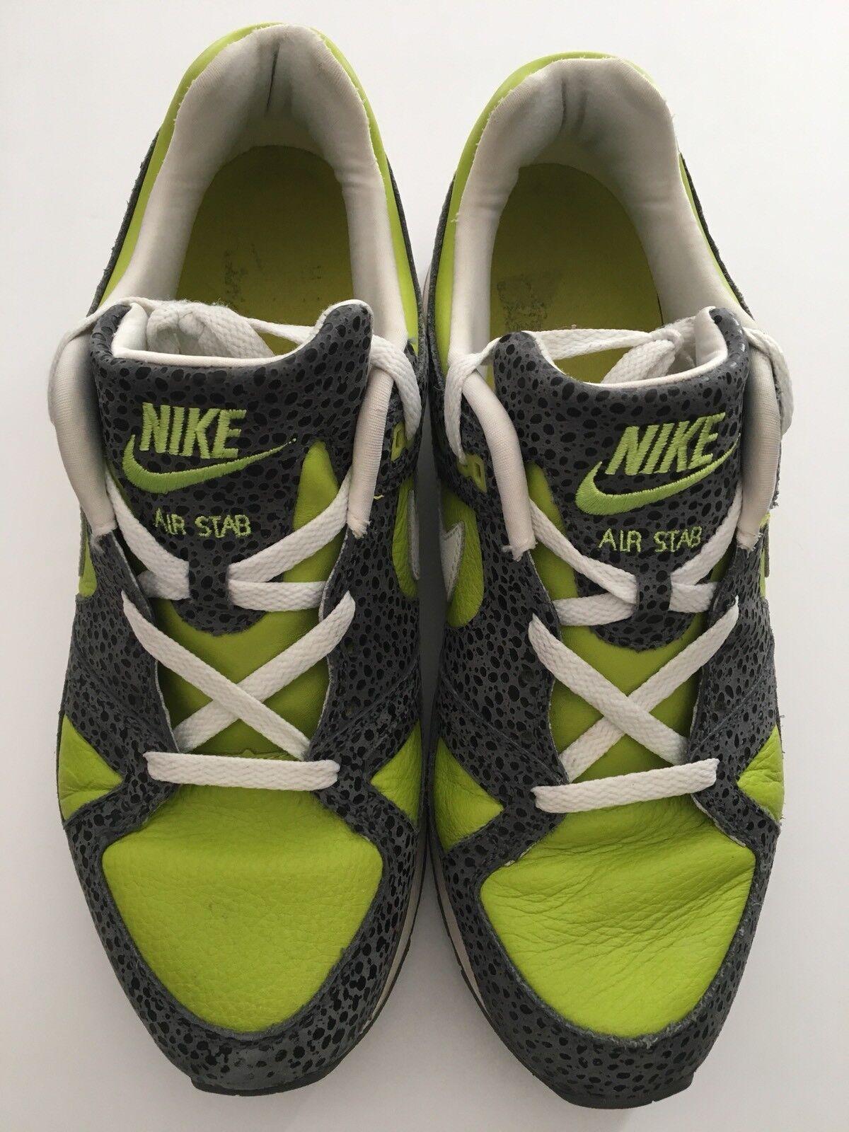 Nike Air Stab Premium Cactus Pack Safari 2007 Sz 10.5 M 316402 311 Parra Patta