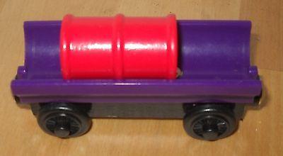 Purple Barrel Car with Petrol barrel Thomas The Tank Engine wood    b
