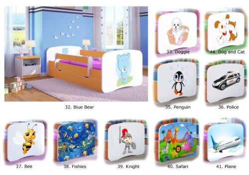 Single Bed BabyDreams For Kids Children Toddler Junior 140x70 160x80 180x80