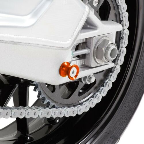 Racingadapter KTM 1190 RC8 R Motea Jerez M10 x 1.5 orange Prismabuchs