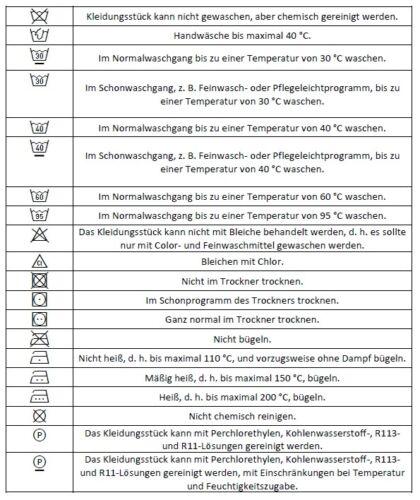 50 etiquetas textiles wollmix