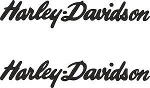 Details Zu 2 X Harley Davidson Schrift Aufkleber 240 Mm X 45 Mm Viele Farben