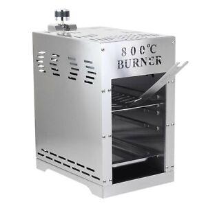 800-C-Grill-Oberhitzegrill-Hochtemperatur-Grill-Gasgrill-mit-Zubehoer-Beef-Maker