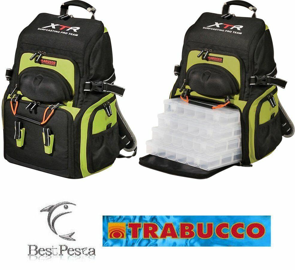 TRABUCCO ZAINO EXPEDITION - serie XTR SURFCASTING PRO TEAM - 048-42-090