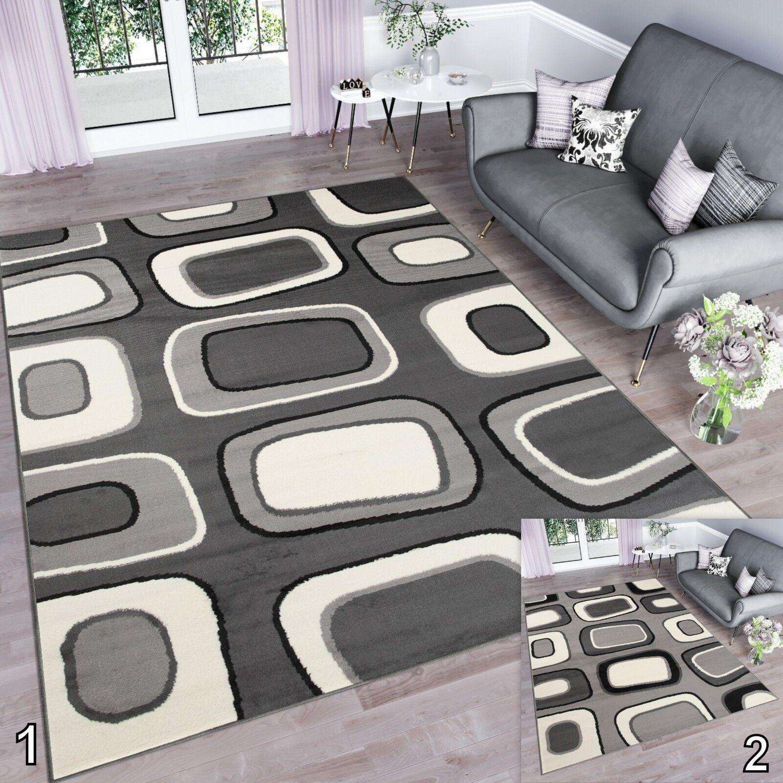 Stile retrò contemporaneo Tappeto per salotto camera da letto di qualità superiore pietre Pattern