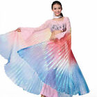 Egyptian Egypt Belly Dance Costume Gradient Colors Colorful Angel Isis Wings