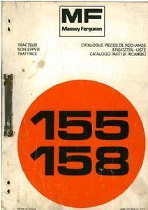 massey ferguson 1010 parts manual