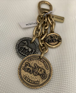 NEW-COACH-HORSE-AND-CARRIAGE-COIN-CHARM-for-hand-bags