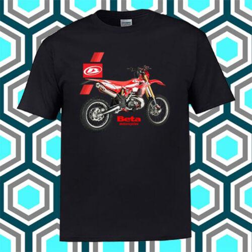 Beta Racing Motorcycle Italia Logo Men/'s Black T-Shirt Size S M L XL 2XL 3XL