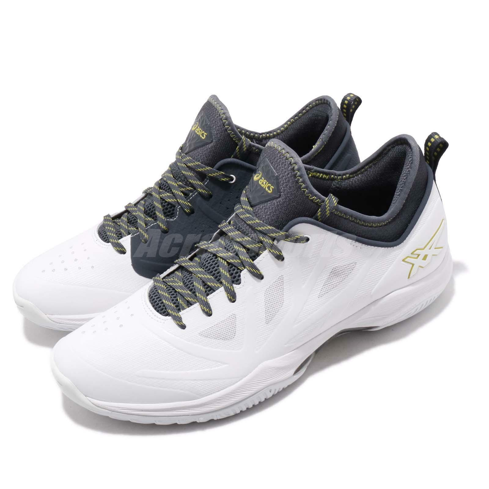 Asics Glide Nova FF White Tarmac Grey Men Basketball shoes Sneakers 1061A003-116