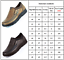 Mens-Leather-Smart-Casual-Shoes-Breathable-Antiskid-Loafers-Slip-on-Moccasins thumbnail 3