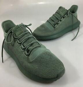 Adidas-Mens-9-5-Green-Tubular-Gym-Shoes-Kicks-281001