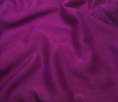 "Faux Silk CHIFFON Fabric IRIDESCENT BOYSENBERRY 9""x27"" remnant"