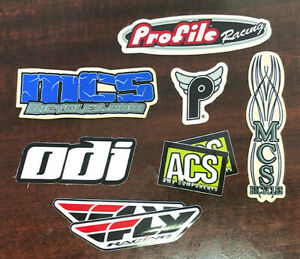 NOS BMX ACS BMX decals stickers