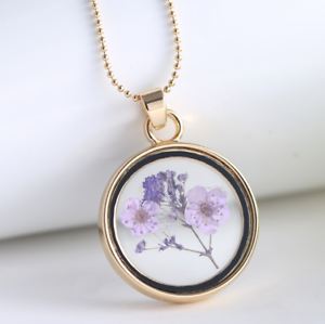 hot-new-round-pendant-colorful-specimen-dried-flower-necklace-UJ-amp-1