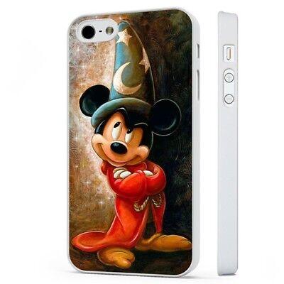 DISNEY FANTASIA Mickey Mouse Stregone Mago Bianco Telefono Custodia Cover si adatta iPhone   eBay
