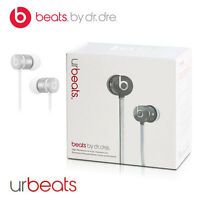 Original Monster Urbeats By Dr. Dre Headphone Silver For Apple Iphone Ipad Ipod
