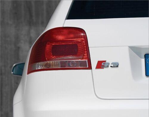 AUDI NEW GENUINE A3 S3 8P 2003-2013 CHROME S3 REAR TRUNK BADGE EMBLEM 8P0853735
