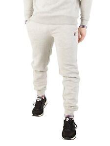 cbd9e2c157840 Fila Visconti Essential Sweatpants Men's New Light Grey Trousers ...