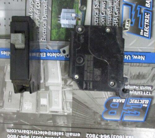 20 AMP 1 POLE 120 VOLT Circuit Breaker Cutler Hammer CHB120 WARRANTY