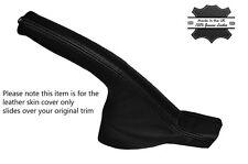 BLACK STTICH BLACK LEATHER HANDBRAKE BOOT FITS PORSCHE 986 BOXSTER & CARRERA 996