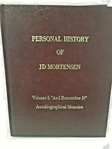 Personal-history-of-JD-Morensen-Volume-1-As-I-Remember-it-Autobiographical